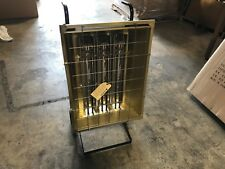 FOSTORIA Electric Infrared Heater, Indoor, Outdoor, Carted Unit, 480v 6000 Watts