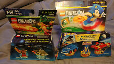 LEGO DIMENSIONS Sonic the Hedgehog Level Pack 71244 & Chima Fun Pack 71223