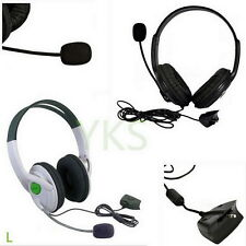 Live Big Headset Headphone With Microphone for XBOX 360 Xbox360 Slim NEW KZ