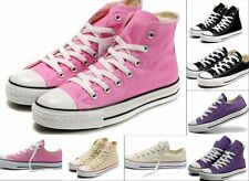 Girls Canvas Lace Up Classic Girls College Sneaker Espadrilles Shoes Retro Cute