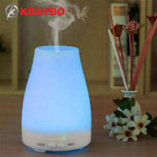 Ultrasonic Humidifier Aromatherapy Oil Diffuser Cool Mist LED Lights Waterless