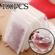 Non-woven Large Empty Teabags String Heat Seal Filter Paper Herb Loose Tea Bags