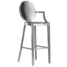 Set of 4/8 Dining Chairs Philippe Starck Louis Ghost Kong 1 Armed Barstool Chair