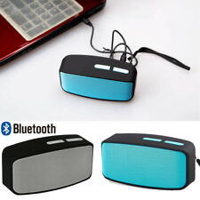 Mini Portable Bluetooth Wireless Stereo FM Speaker For Smartphone Tablet Laptop