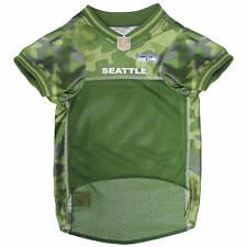 Pets First Seattle Seahawks Camo Jersey