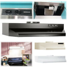 """Under Cabinet Range Hood Capable 30"""" Kitchen Vent Duct Stove Top Fans Filters"""