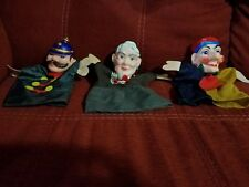 Vintage Mr. Rogers Neighborhood Set of 6 Colorful Hand Puppets LOT