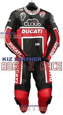 New Ducati MOTOGP Motorcycle and Motorbike Racing Cowhide Leather Suit