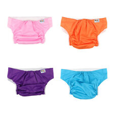 Adult Cloth Diaper Nappy Teen Reusable Washable Disability Incontinence Care