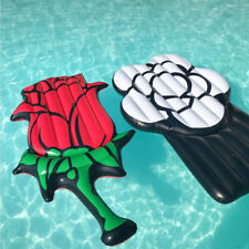 YhsBUY® Hot Giant Inflatable Rose Pool Float Flower Swimming Ring Air Mattress