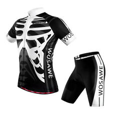 Mens Bike Team Racing Outfits Jersey Short Tights Set Cycling Quick Dry Tops