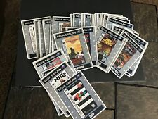 You Pick Sega Saturn Vidpro Promotional Display Card Lot over 100 NOT GAMES!!!
