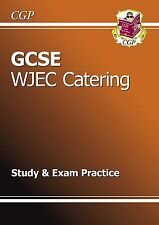 GCSE Catering WJEC Study & Exam Practice (A*-G Course) by CGP Books (Paperback,…