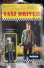 Taxi Driver  Funko Reaction  Action Figure Travis Bickle & Display Case Super 7