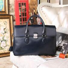 E'Mio Leather Men Business Briefcase Handmade Venezin Cow Leather Handbag Should