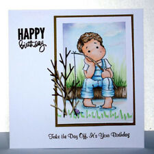 Album Decor Cards Paper Scrapbooking Boy Clear Stamps Stencils Cutting Dies