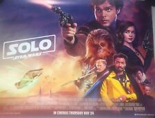 Solo: A Star Wars Story UK Cinema Quad Poster