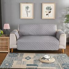 WATERPROOF QUILTED REVERSIBLE SETTEE SOFA COVER FURNITURE SLIPCOVER 1/2/3-SEATER