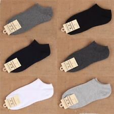 HOT 5 Pairs Ankle Crew Mens Socks Cotton low cut Casual Sport Multi Color Sock