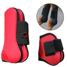 2 Pairs Horse Leg Boots Front Hind Leg Tendon Protective Gear Equestrian