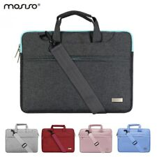 MOSISO® Laptop Canvas Shoulder Bags With Belt For Macbook Pro 13 Air