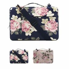 MOSISO® Canvas Laptop Sleeve Case Shoulder Bag For Macbook Air Pro Asus Dell HP