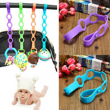 Baby Toddler Pacifier Chain Clip Strap Dummy Soother Nipple Holder Clip Chain