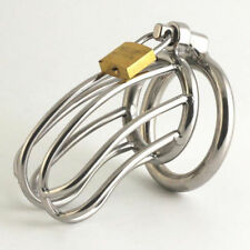 Metal Bondage Fetish Male Stainless Steel Chastity Device Cage