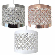 Moda Sparkly GEM Ceiling Pendant Light Lamp Shade Fitting Lampshade 24 x 17cm