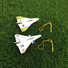 Elastic Rubber Band Powered DIY Delta Wing Foam Plane Kit Aircraft Model Outdoor