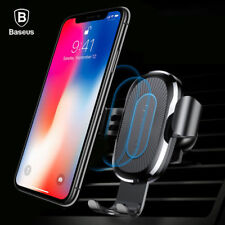 Baseus B1 Car Mount Qi Wireless Charger QuickCharge Fast Charge Pad Holder Stand