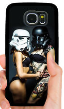 SEXY STORM TROOPER STAR WARS CASE COVER FOR SAMSUNG NOTE & GALAXY S5 S6 S7 S8 S9