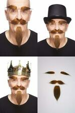 Mustaches Self Adhesive, Novelty, Fake Hairy Russian Beard, and Eyebrows