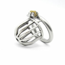 Male Chastity Stainless Steel Devices Bondage Chastity Cage Lock