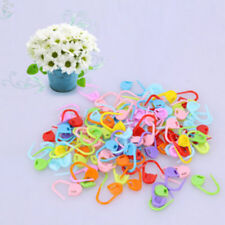 100pcs Knitting Locking Stitch Markers Crochet Craft Needle Clip Pins Markers HS