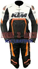 KTM MOTOGP Motorcycle and Motorbike Racing Cowhide Leather Suit 2 Pcs