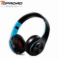 TOPROAD® Foldable Bluetooth Headphone Headset Wireless Stereo Headphone Earphone