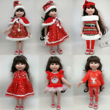 """Christmas Costumes Clothes for 18"""" American Girl Our Generation My Life Dolls"""