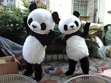 Hot Adult Panda Costumes Bear Mascot Parade Party Dress Outfit Festival Cosplay