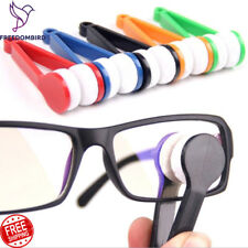 Glasses Cleaning Cleaner Eyeglass Wipe Lens Spectacles Sunglasses Wipes Brush