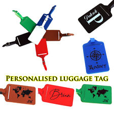 Personalised Luggage Tag Travel Accessories Custom Luggage Tags Graduation Gift