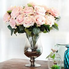 10pcs/Set Simulation DIY French Rose Flowers Artificial Silk Flowers Party