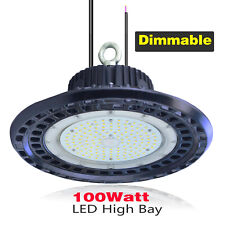 100W Dimmable LED High Bay Light  Replace for 400 Metal Halide in Supermarkets