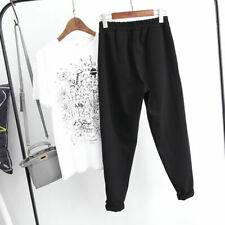 Sports Pants Trousers Comfortable Casual Harem S~2XL Women Polyester Comfy 2019