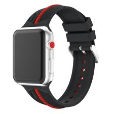 Sport Silicone Strap Band For Apple Watch Series 1 2 3 4 38mm 42mm  44mm 40mm