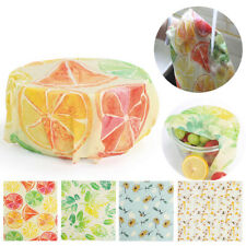 3pc Reusable Wax Food Wraps-Sustainable Food Beeswax Fresh Cloth Bees Wrap Cloth