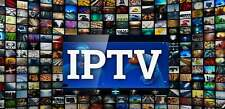 1 YEAR IPTV SUBSCRIPTION Via IPTV smarters +5000 channels and 7000 VOD best