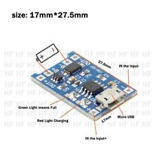 TP4056 5V 1A Micro USB 18650 Lithium Battery Charger Board Protection Module