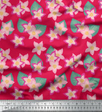 Soimoi Fabric Leaves & Cypress Floral Printed Craft Fabric by the Yard - FL-751H
