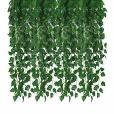Kalolary 84 Ft 12 Strands Artificial Ivy Garland Leaf Vines Plants Greenery, Han